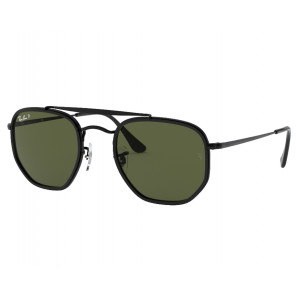 Ray-Ban 3648M The Marshal II Black Green Polarized
