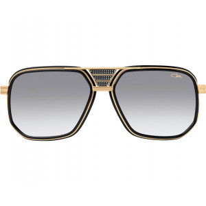 Cazal Legends 666 Matte Black/Gold Gray Gradient