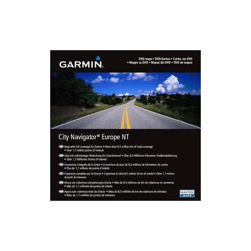 Garmin City Navigator Europe DVD
