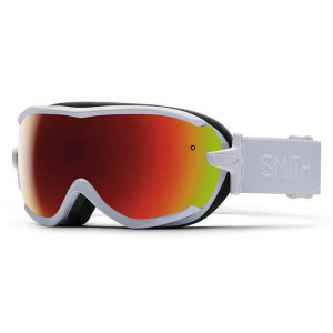 Smith Ski Goggles Virtue White/Red Sol-X Mirror
