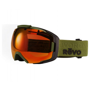 Revo Masque de ski Echo Kaki Orange Polarisé Photochromique