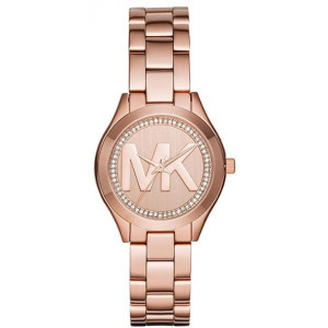 Montre femme MICHAEL KORS MK3549 SLIM RUNWAY Or Rose