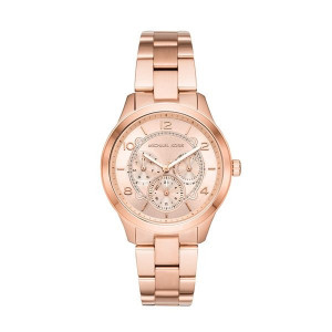 Montre femme MICHAEL KORS RUNWAY Or Rose