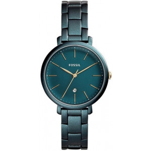 FOSSIL Mod. JACQUELINE Blue Stainless Steel