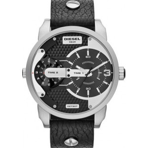 DIESEL Mod. MINI DADDY Black Leather