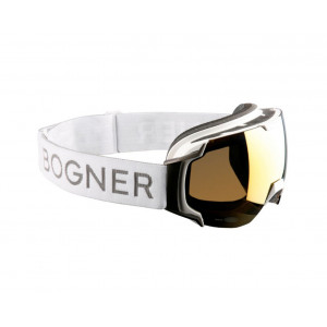Bogner Ski Goggles Just-B Gold White Ruthenium