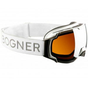 Bogner Masque de ski Just-B White Ruthenium