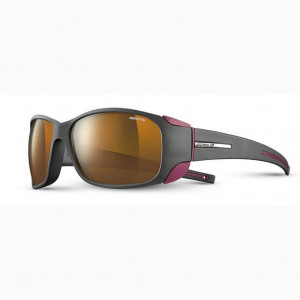 Julbo Monterosa Grey/Burgundy Reactiv High Mountain 2-4