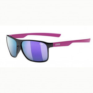Uvex LGL 33 Pola Black Pink Mirror Purple Polarisé