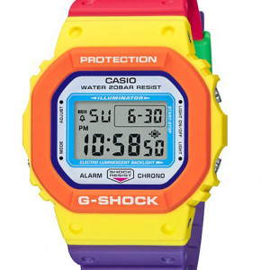 Casio G-Shock DW-5610DN-9ER Psychedelic Colors
