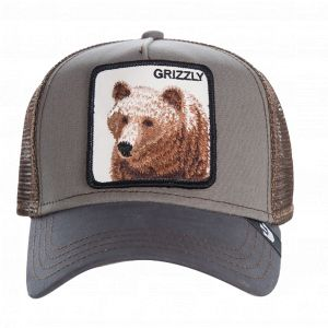 Goorin Bros Casquette Trucker Grizzly Gris/Marron