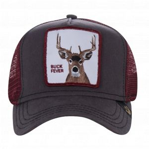 Goorin Bros Casquette Trucker Buck Fever Marron/Rouge