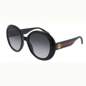 Gucci GG0712S Black Grey Gradient