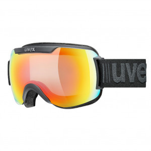 Uvex Masque de Ski Downhill 2000 V Noir Rainbow Mirror Photochromique