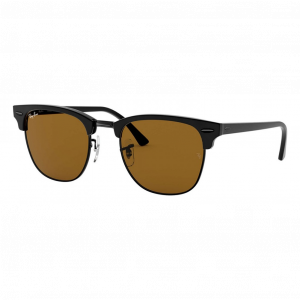 Ray-Ban Clubmaster Classic Noir Brun Classique B-15