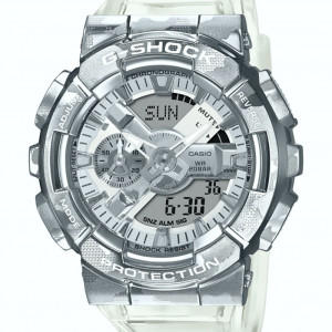 Casio G-Shock GM-110SCM-1AER Camouflage Skeleton Series - 2020