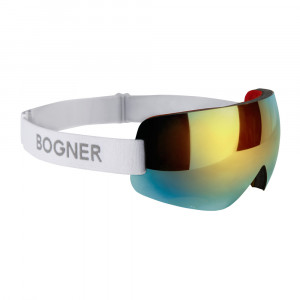 Bogner Masque de ski Snow Shades Gold/White