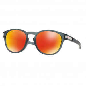 Oakley Latch Matte Crystal Black Prizm Ruby
