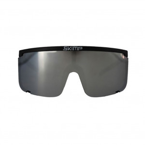 Skimp Sunglasses The Black Silver Mask