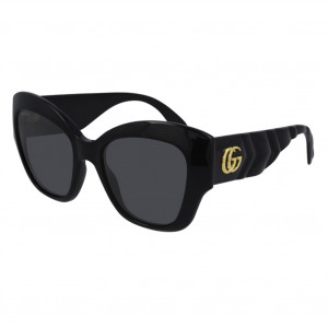 GUCCI GG0808S Black Grey - Fall/Winter 2020/2021 Collection