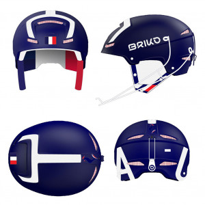 Briko Slalom France Shiny Blue White