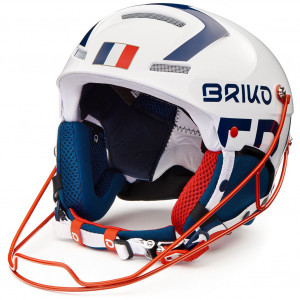 Briko Slalom France Shiny White Blue - 2020/2021