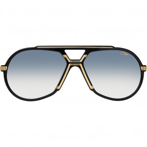 Cazal 888 Black/Gold Blue Gradient Silver Mirror - 2020