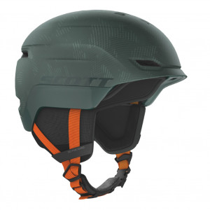 Casque Scott Chase 2 Plus Sombre Green/Pumpkin Orange MIPS