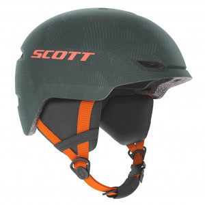 Kid's Ski Helmet Scott Keeper 2 Sombre Green/Pumpkin Orange