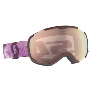 Scott Ski Goggles Faze II White/Cassis Pink Enhancer Rose Chrome