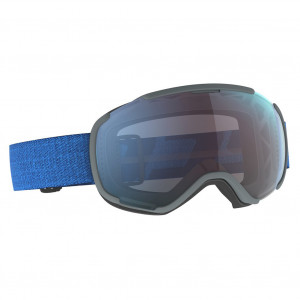 Scott Ski Goggle Faze II Dark Blue/Skydive Blue Enhancer Blue Chrome
