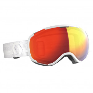 Scott Ski Goggle Faze II White Enhancer Red Chrome