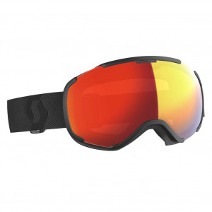 Scott Ski Goggle Faze II Black Enhancer Red Chrome