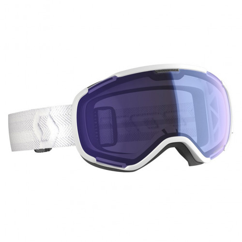Scott Ski Goggles Faze II White Illuminator Blue Chrome