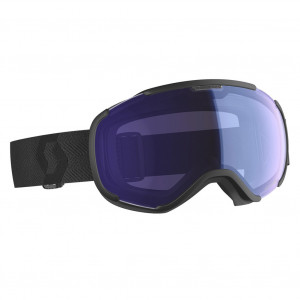 Scott Ski Goggles Faze II Black Illuminator Blue Chrome
