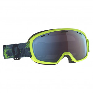 Scott Ski Goggle Muse Pro Ultralime Green/Storm Grey Enhancer Blue Chrome