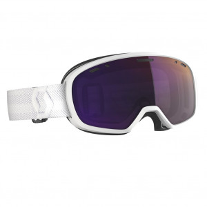 Scott Ski Goggle Muse Pro White Enhancer Purple Chrome