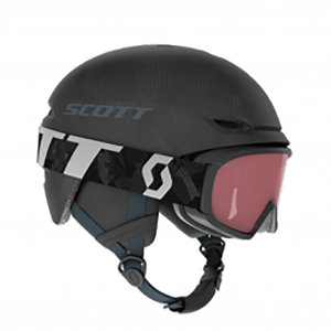 Combo Scott Helmet Keeper 2 + Goggle Witty Jr Dark Grey/Storm Grey