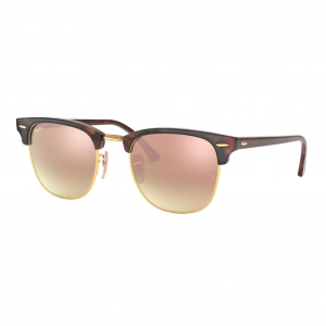 Ray-Ban Clubmaster Flash Havana/Gold Copper Flash Gradient