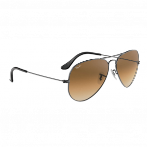 Ray-Ban Aviator Gradient Gunmetal Brun Dégradé