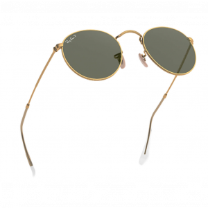 Ray-Ban Round Metal Gold Green Classic G-15 Polarized