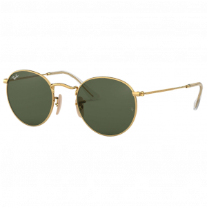 Ray-Ban Round Flat Lenses Or Vert Classique G-15