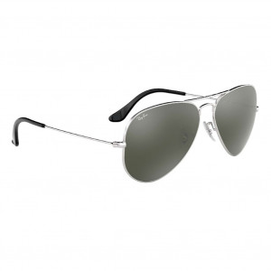 Ray-Ban Aviator Mirror Large Argent Miroité