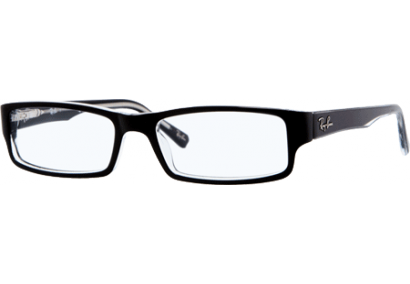 Ray-Ban RX5246 Black/Transparent Black/Transparent Black/Transparent Black/Transparent