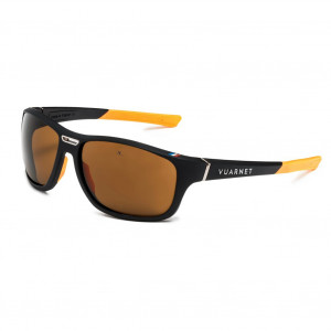 Vuarnet Racing 1928 Large Matte Black/Orange Brown Polar