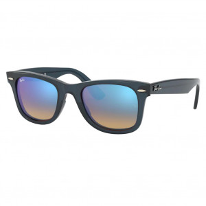 Ray-Ban Wayfarer Ease Bleu Bleu Dégradé Flash