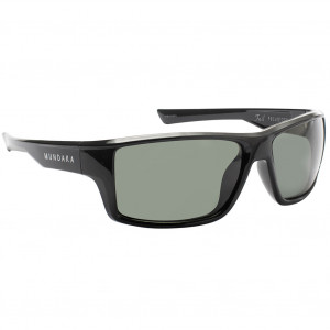 Mundaka Foil Matte Black Green Polarized