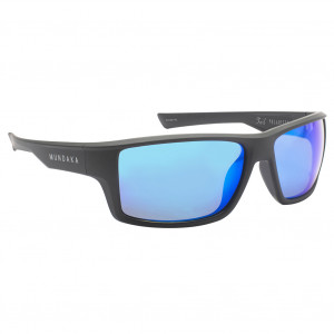 Mundaka Foil Matte Black Smoke Blue Revo Polarized