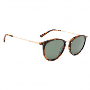 Mundaka Hampton Brown Tortoise/Gold Green Polarized