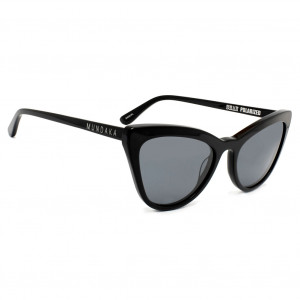 Mundaka Hampton Black/Silver Smoke Polarized